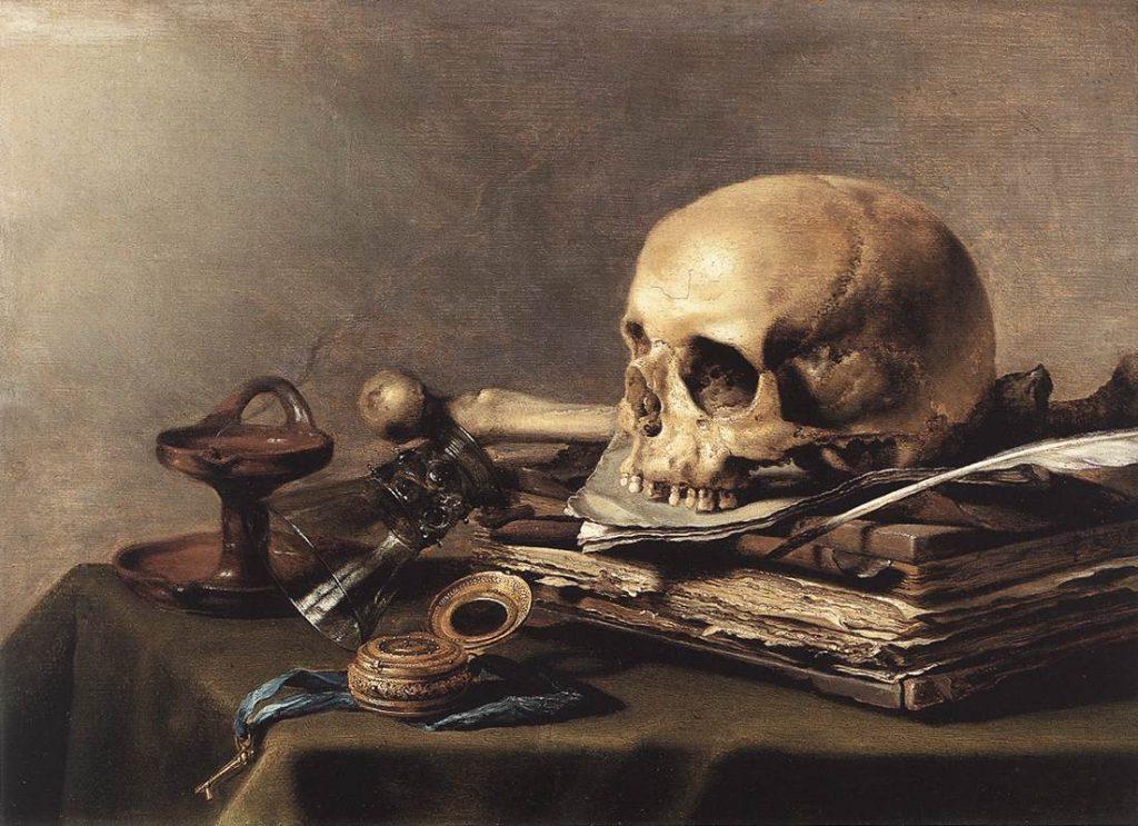 Vanitas painting: Pieter Claesz, Vanitas Still Life