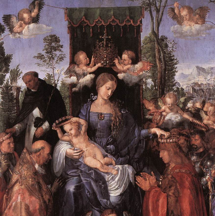 Albrecht Dürer, Feast of the Rosary, 1506