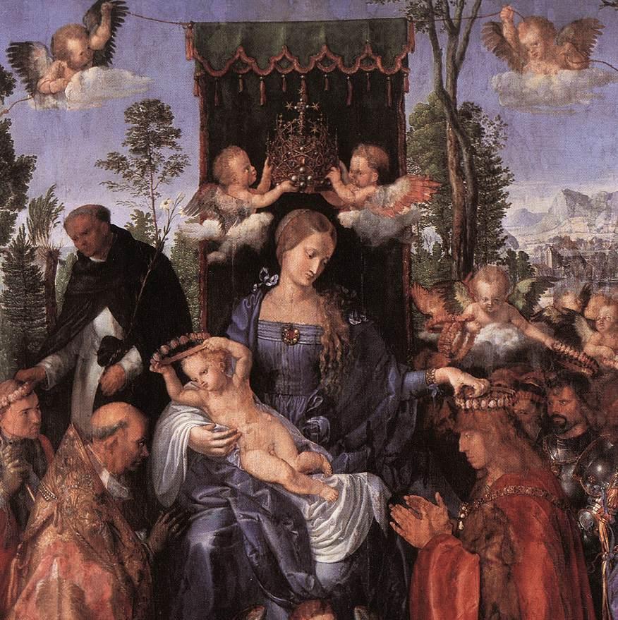 Albrecht Dürer, Feast of the Rosary, 1506