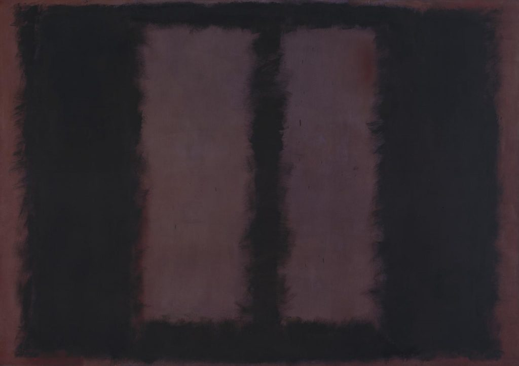 Black on Maroon 1958 Mark Rothko 1903-1970 Presented by the artist through the American Federation of Arts 1968 http://www.tate.org.uk/art/work/T01031