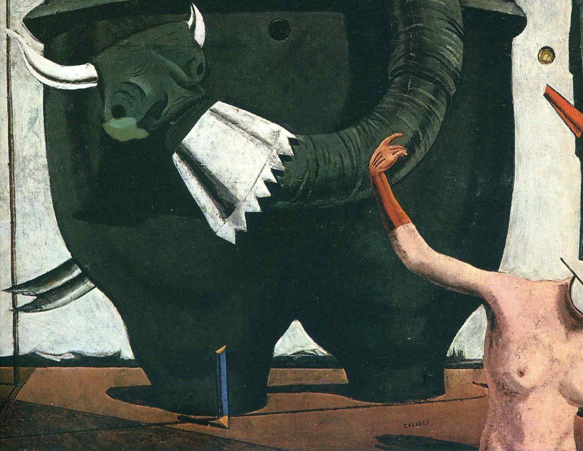 Max Ernst, The Elephant Celebes, 1921