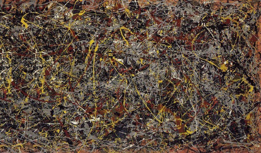 Jackson Pollock, No. 5, 1948.