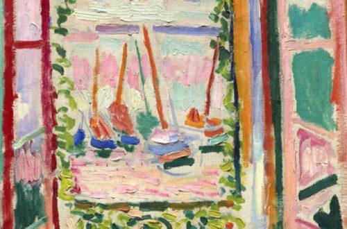 Open Window by Henry Matisse