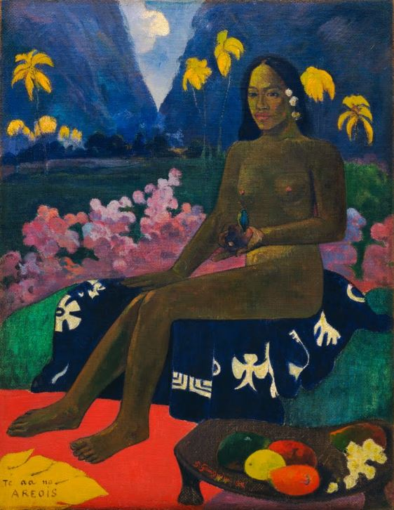 Paul Gauguin, Seed of the Areoi (Te aa no areois), 1892