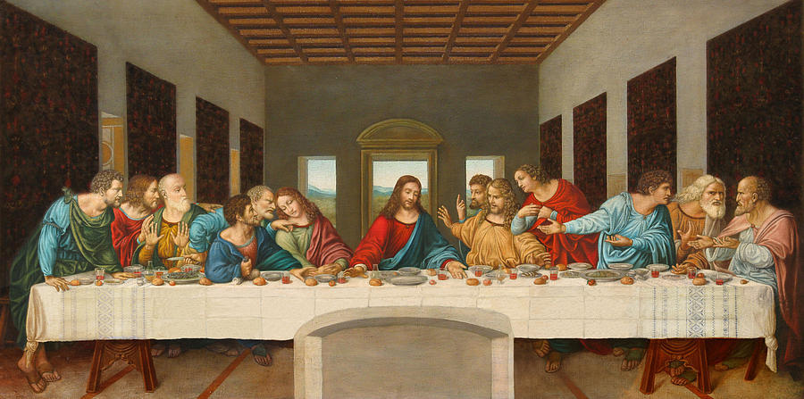 Leonardo Da Vinci, The Last Supper, 1495-1498