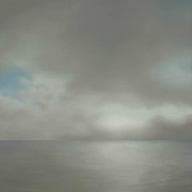 Gerhard Richter, Seascape Cloudy, 1969
