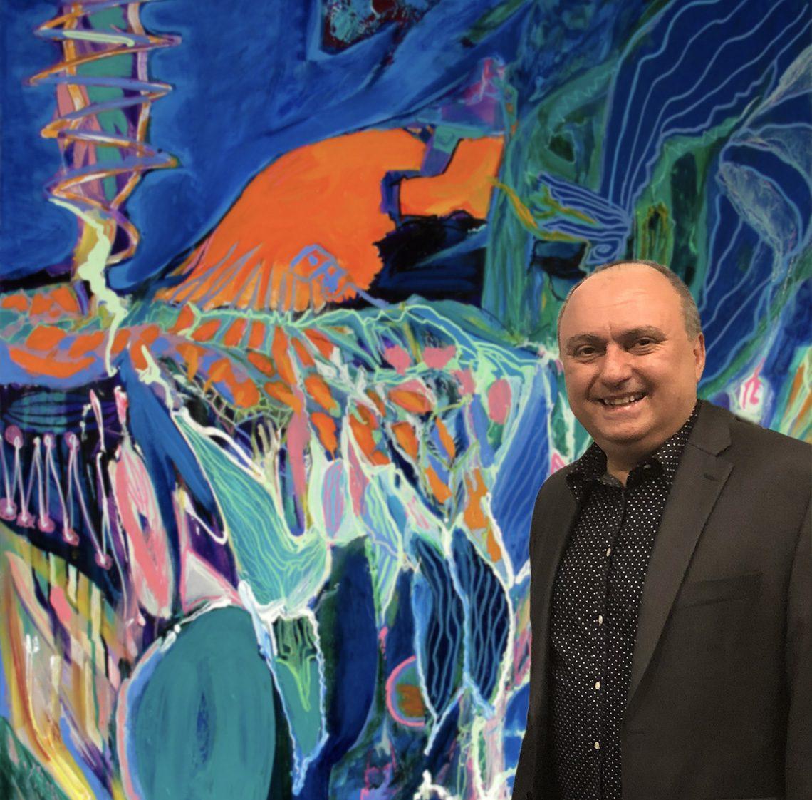 Painter Abol Bahadori