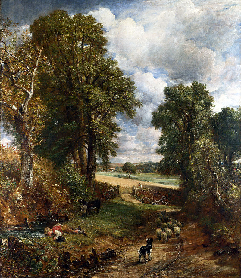John Constable, The Cornfield, 1826
