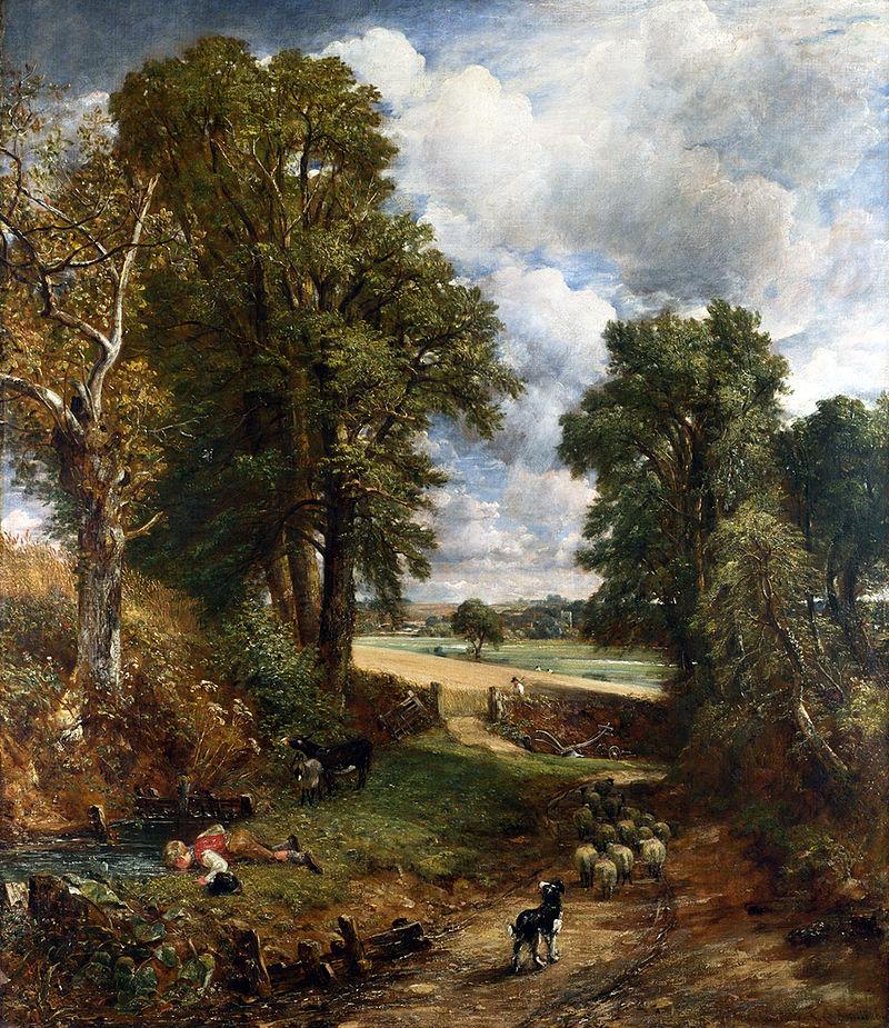 John Constable, The Cornfield, 1826
