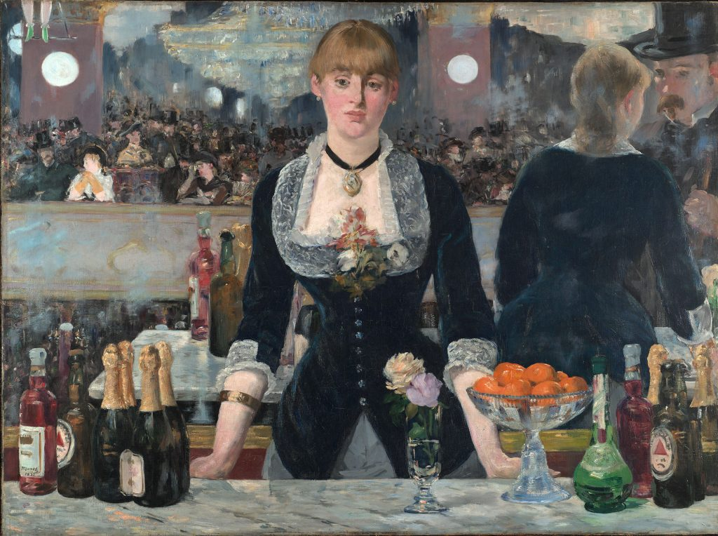 Edouard Manet, A Bar at the Folies Bergere, 1882