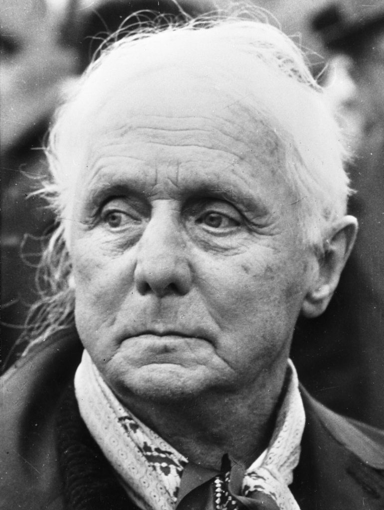 Max Ernst in 1968,  The Antipope