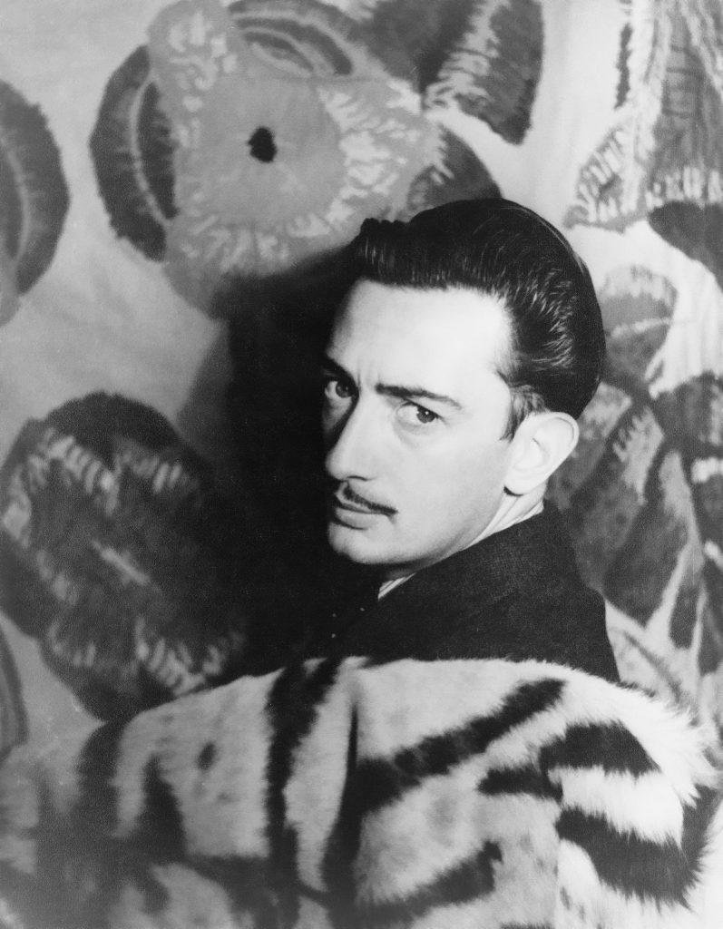 Dalí fotografiert von Carl Van Vechten in 1939