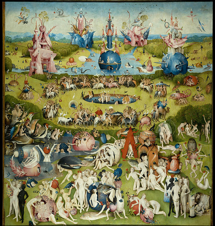 15th Century Surrealism in Hieronymus Bosch\u0027s Garden of