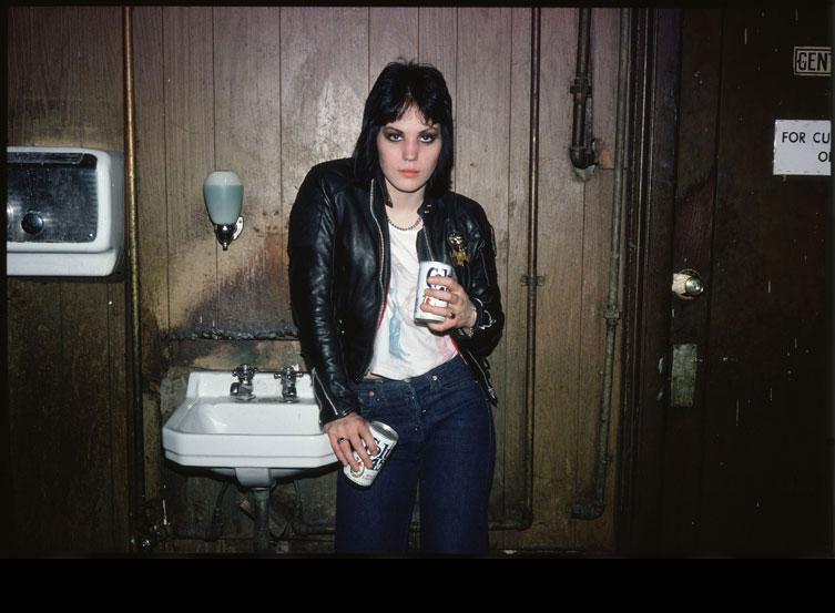 Joan Jett, NYC 1978 © Marcia Resnick