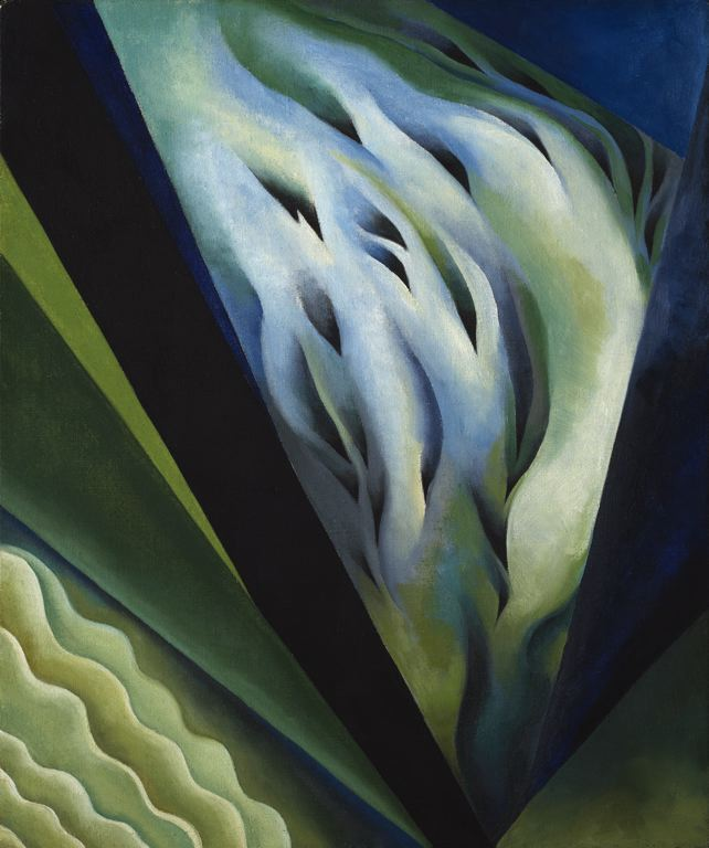 Georgia O'Keeffe, Blue and Green Music, 1919-1921