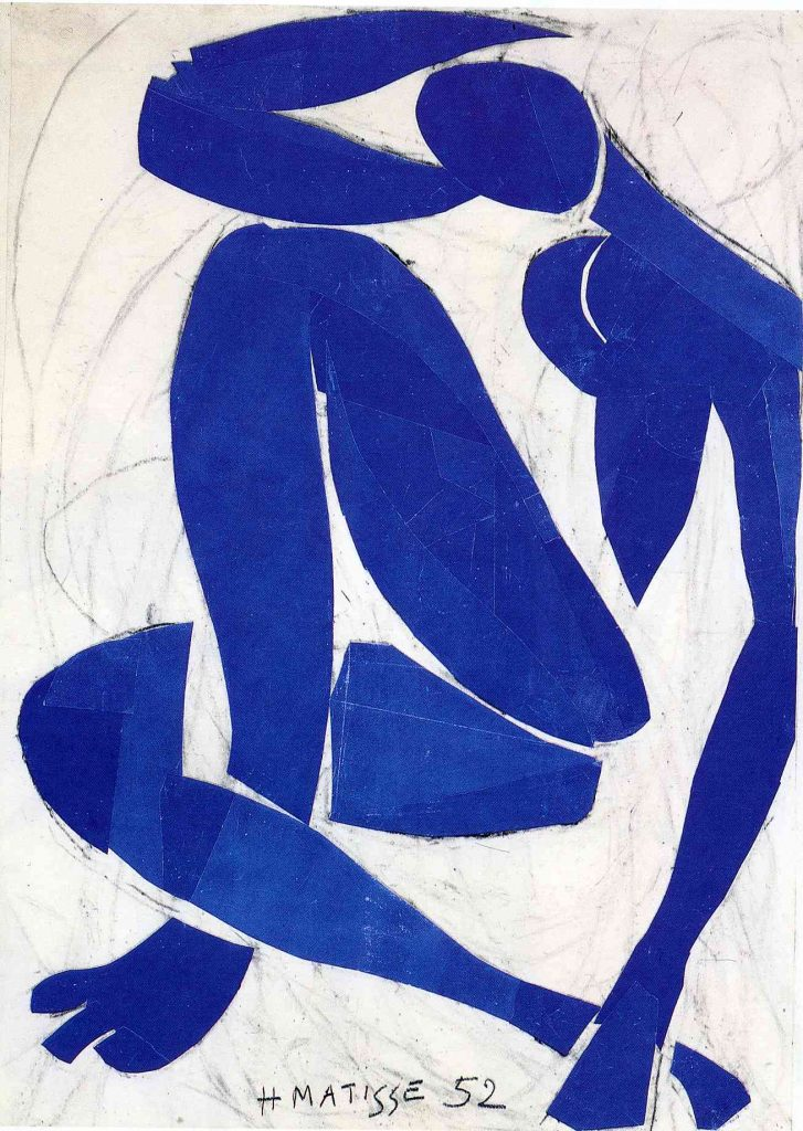 Henri Matisse, Blue Nude IV , 1952
