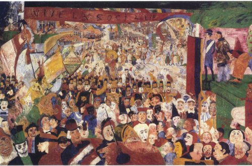 James Ensor, Christ's Entry into Brussels, 1889