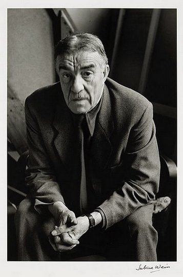 Léger photographed by Sabine Weiss in 1952