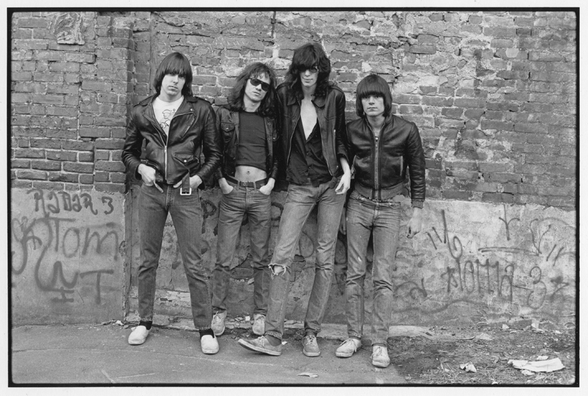 The Ramones, NYC 1976 © Roberta Bayley