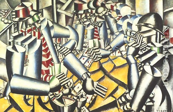 Fernand Léger, The Card Players, 1917