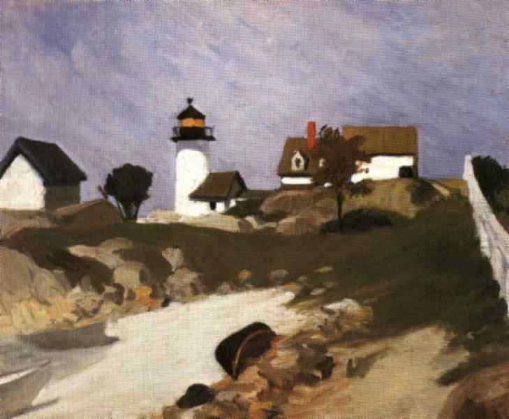 Edward Hopper, Squam Light, 1912
