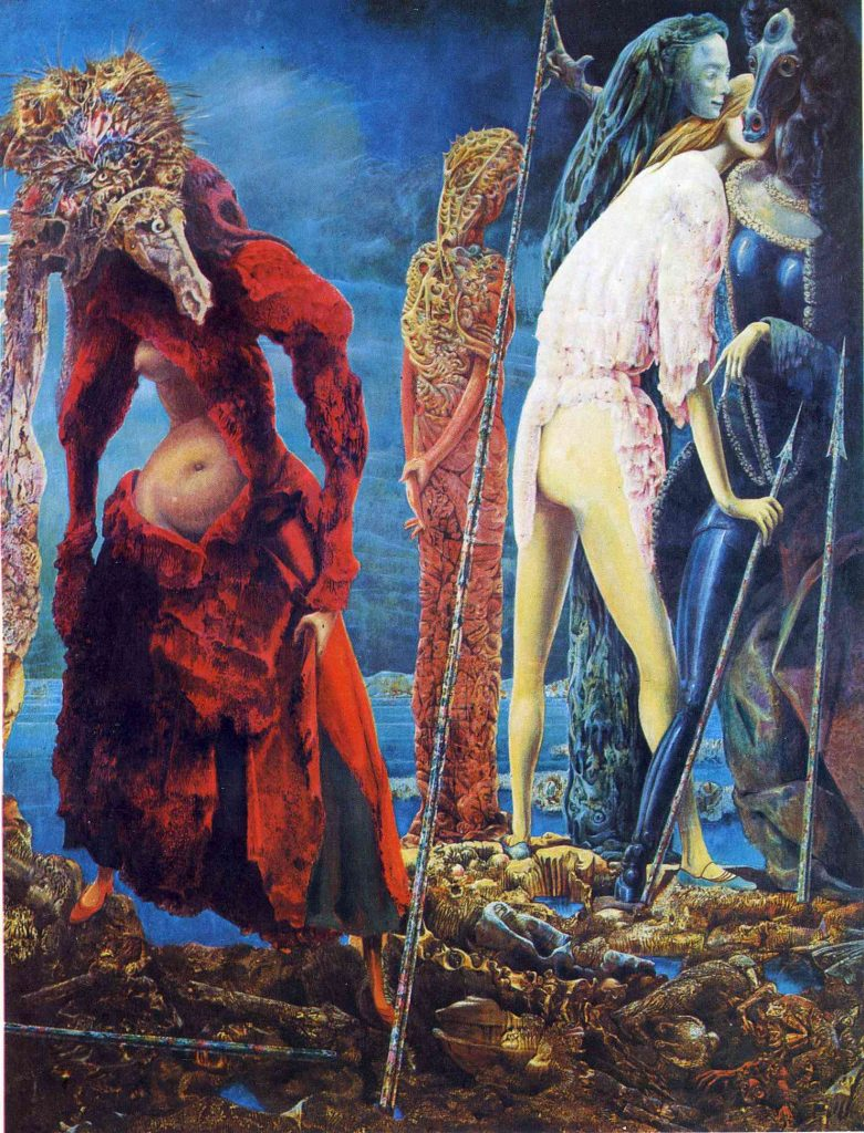 Max Ernst, The Antipope, 1942