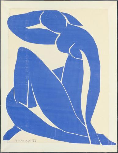 Henri Matisse,  Blue Nude II , 1952