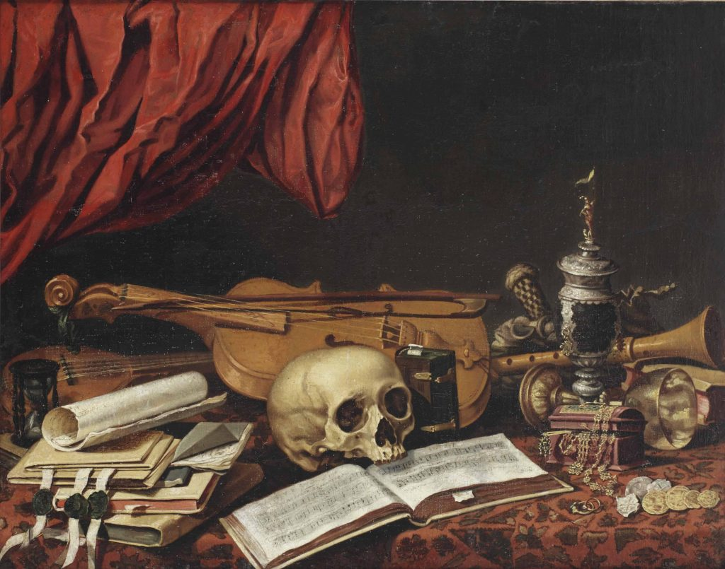 Vanitas from the Dutch School, 17th Century