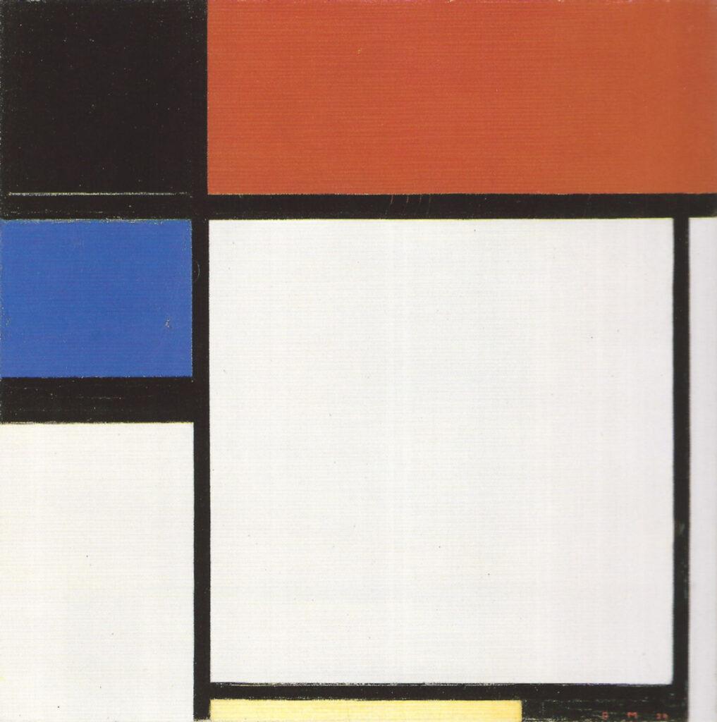 Piet Mondrian, Foxtrot B (1929)