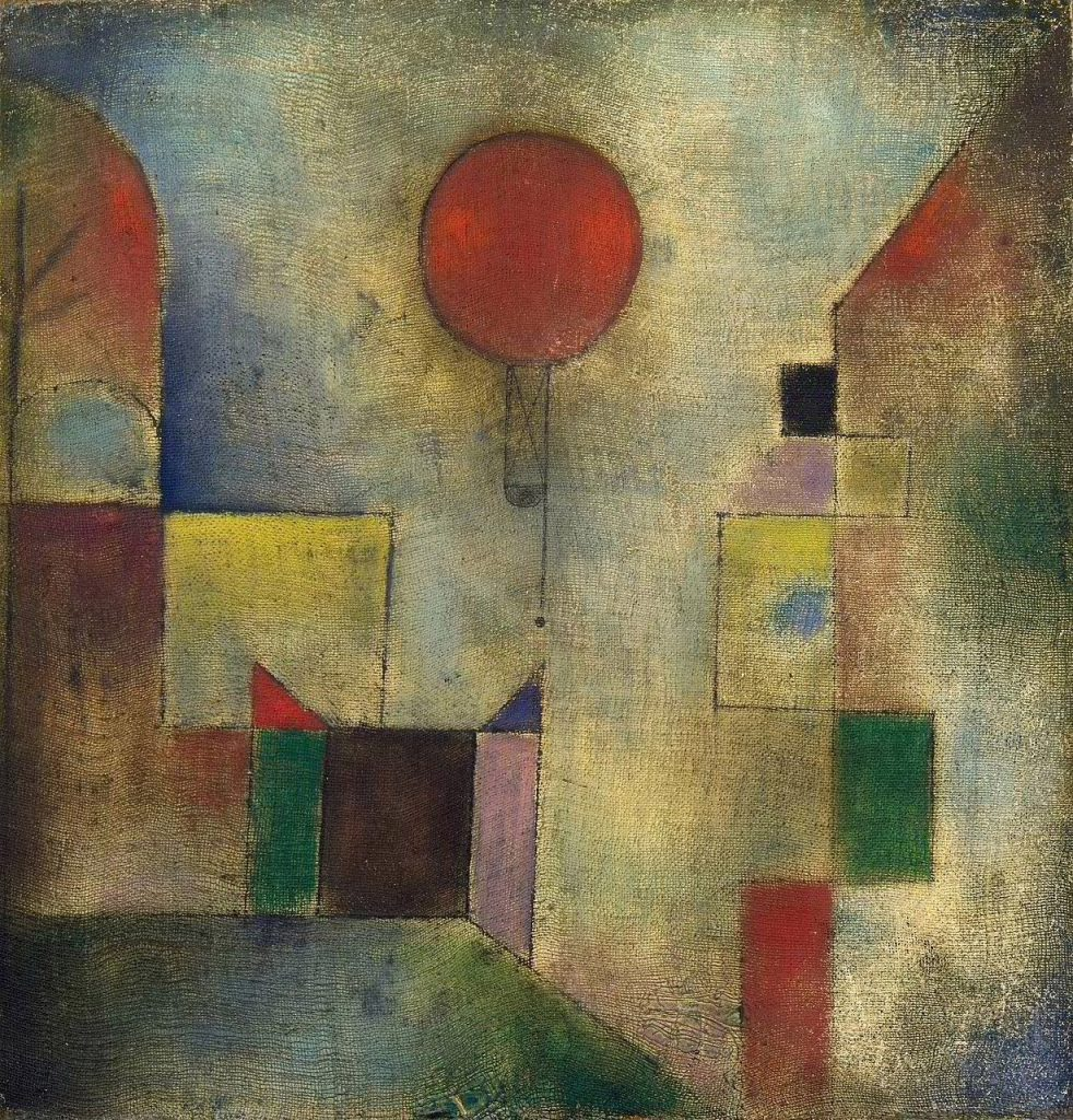 Paul Klee, Red Balloon (1922)