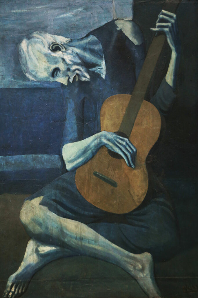 Pablo Picasso, The Old Guitarist (1903-1904)