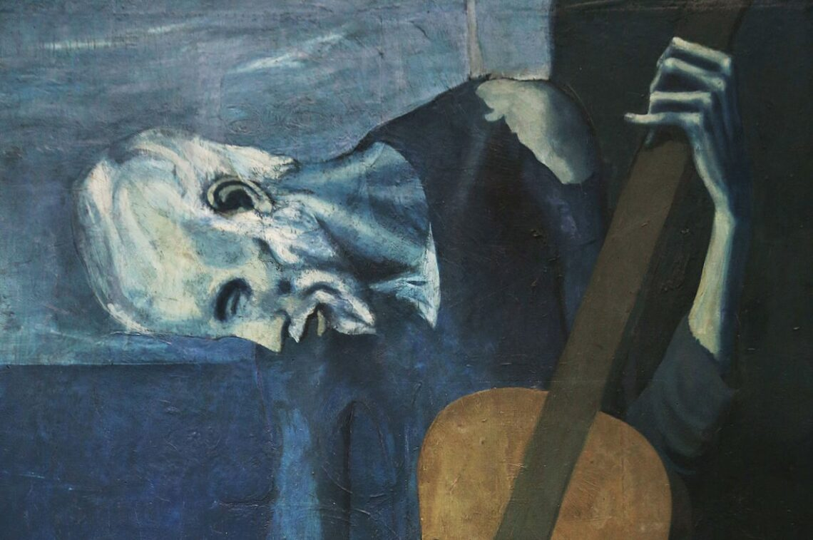 Pablo Picasso's Blue Period and The Old Guitarist