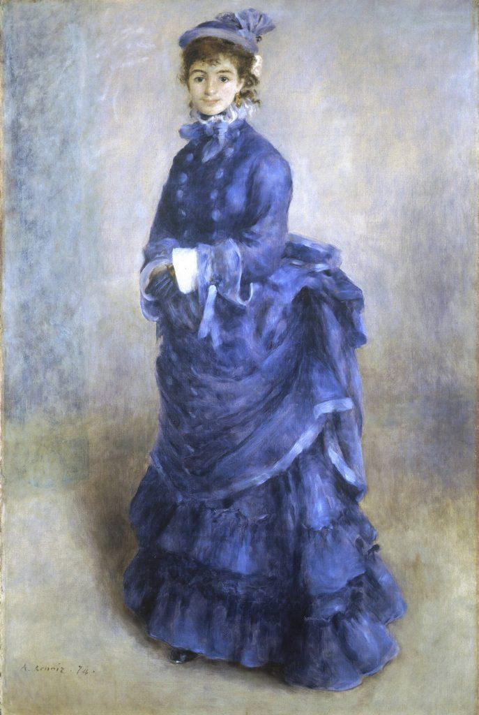 August Renoir, La Parisienne (1874)