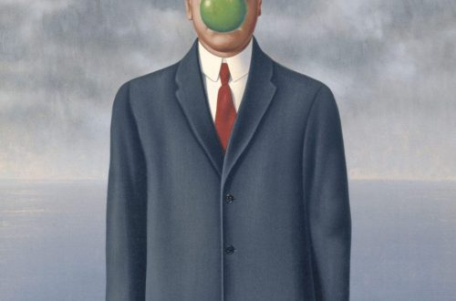 René Magritte, Son of Man, 1964; oil on canvas; private collection. © CHARLY HERSCOVICI, BRUSSELS / ARTISTS RIGHTS SOCIETY (ARS), NEW YORK
