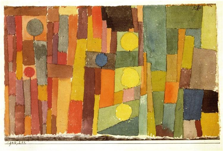 Paul Klee,  In the Style of Kairouan (1914)