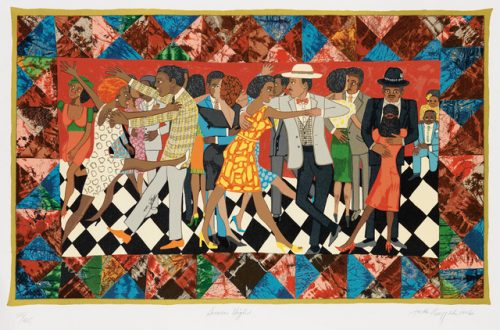 Groovin' High, 1996 by Faith Ringgold
