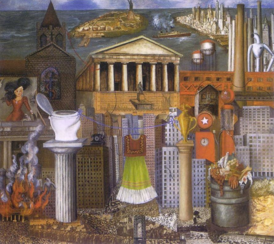 Frida Kahlo, My Dress Hangs There (1933)