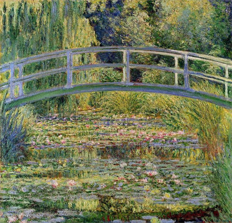 Claude Monet, The Water Lily Pond (1899)