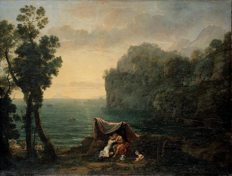 Claude Lorrain, Landscape with Acis et Galatée (1657)