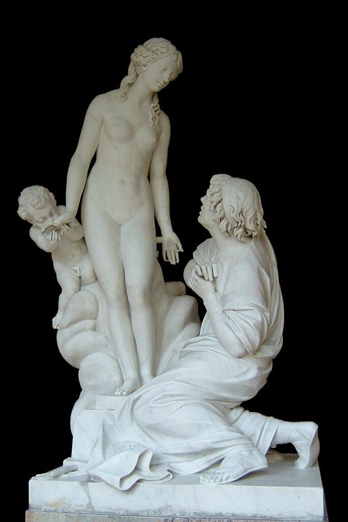 Falconet's sculpture of Galatea (1763)