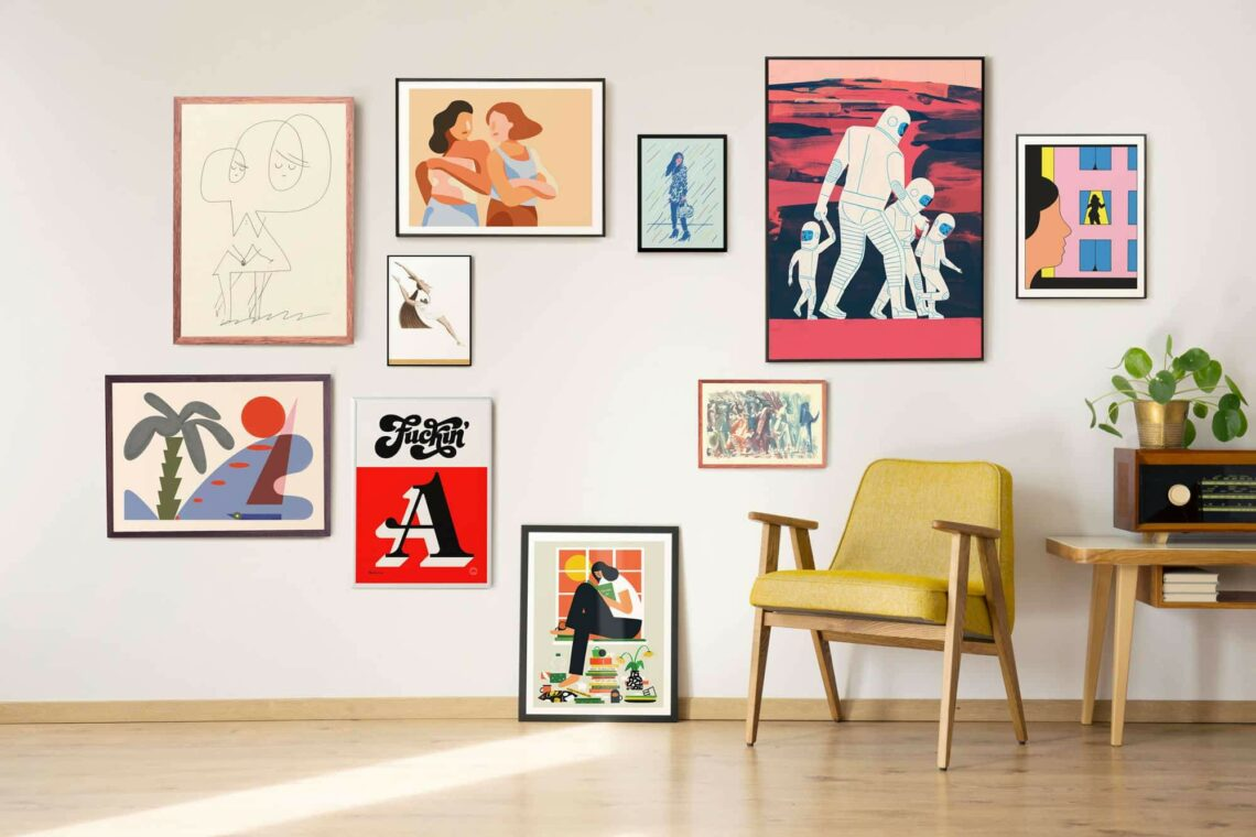 How To Create A Gallery Wall Singulart Magazine