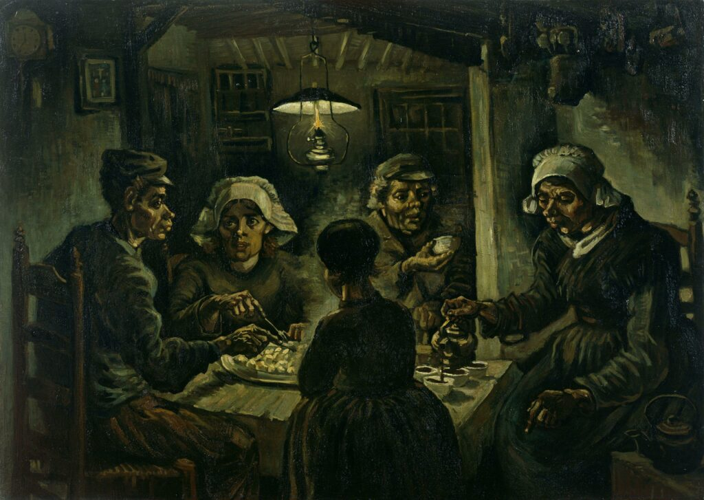 Vincent Van Gogh, The Potato Eaters (1885)