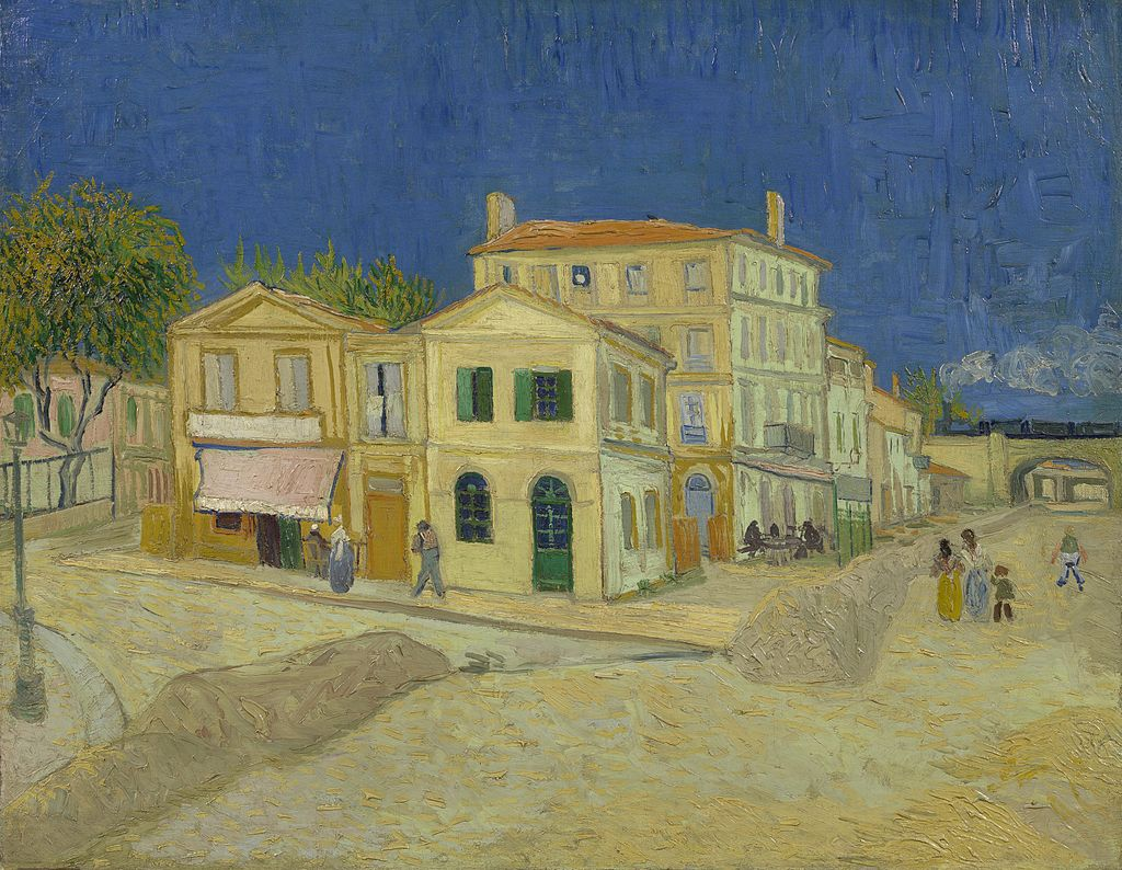 Vincent Van Gogh, The Yellow House (1888)