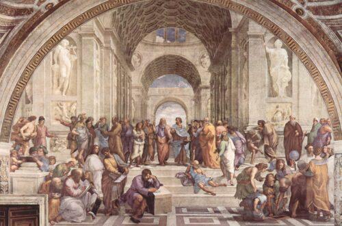 Die Schule von Athen