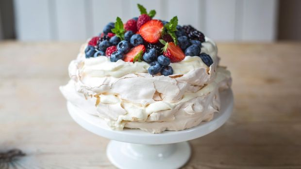 Summer berry Pavlova  © The Irish Times