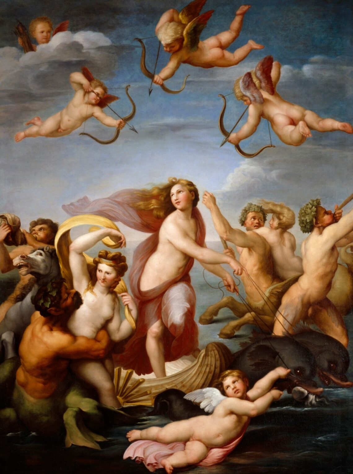 Raphael triumph of galatea