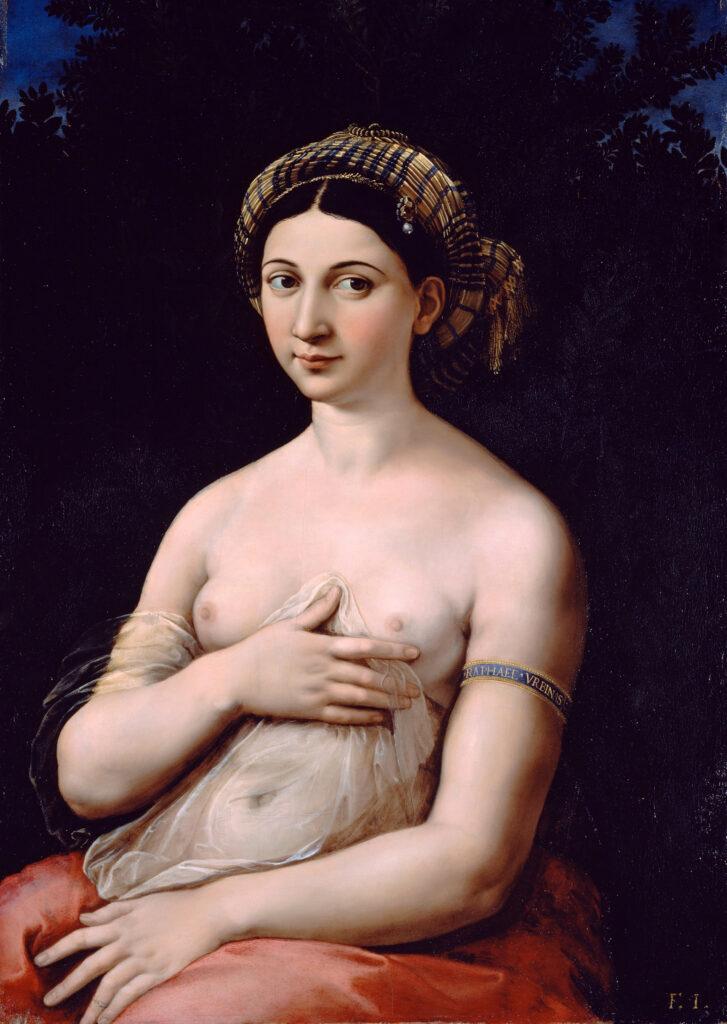 Raphael, La Fornarina (1518-1520)