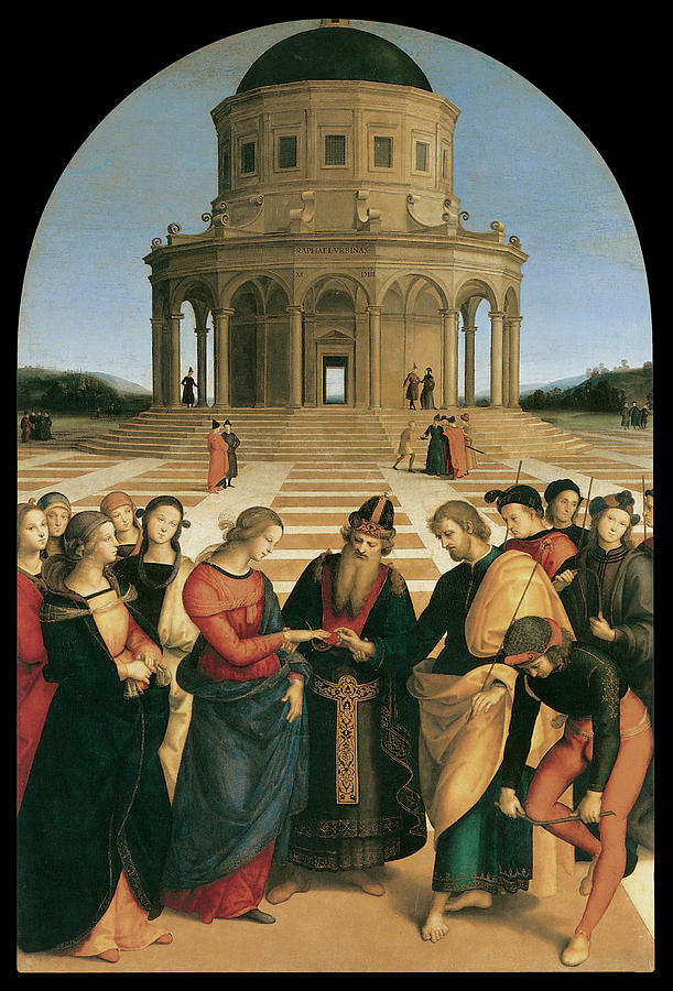 Raphael, The Marriage of the Virgin (1504)