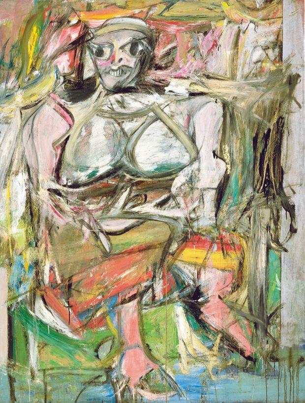 Lavelart Willem de Kooning's Woman I