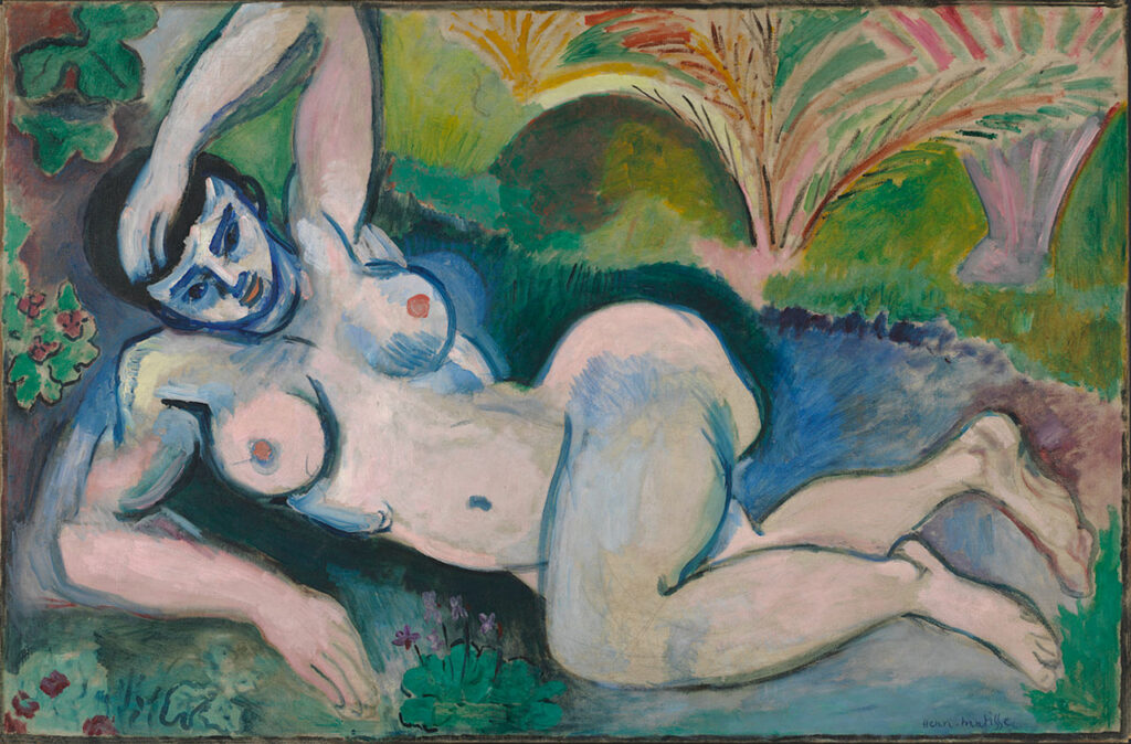 Henri Matisse, Nu bleu (1907)